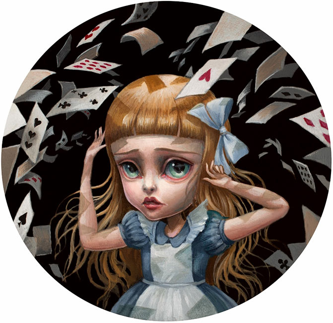 Mab Graves - Alice Cards