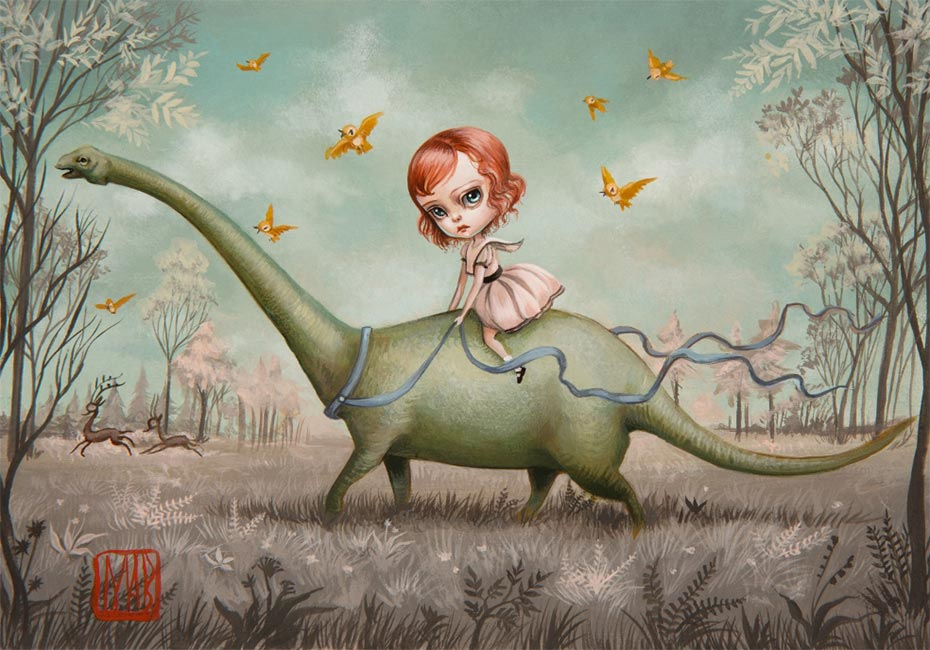 Mab Graves - Blue and the Brontosaur