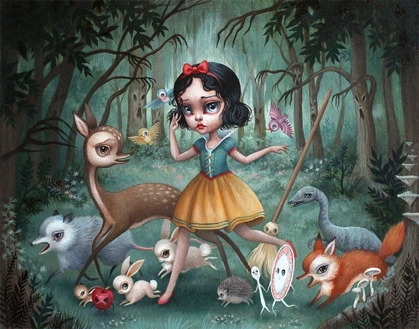 Mab Graves - Snow White in the Black Forest
