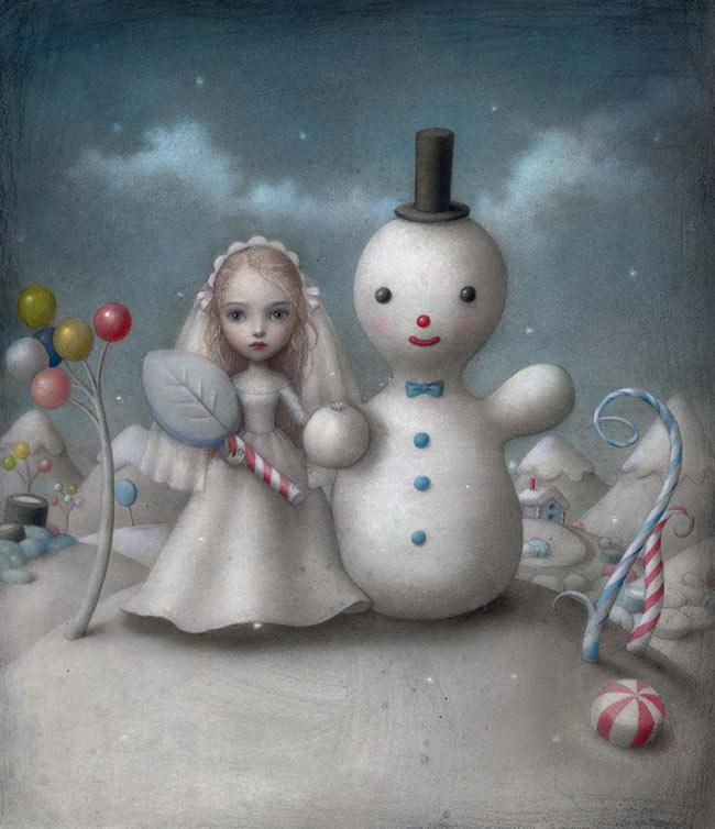 Nicoletta Ceccoli - The Snow Bride