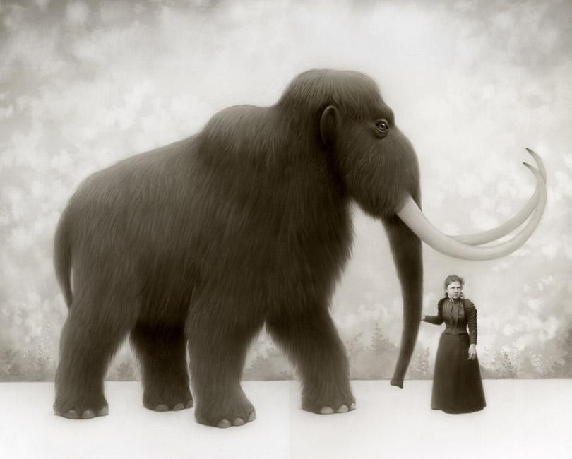 Travis Louie - Martha and Her Mammoth