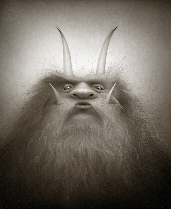 Travis Louie - The Great Woolly Krampus