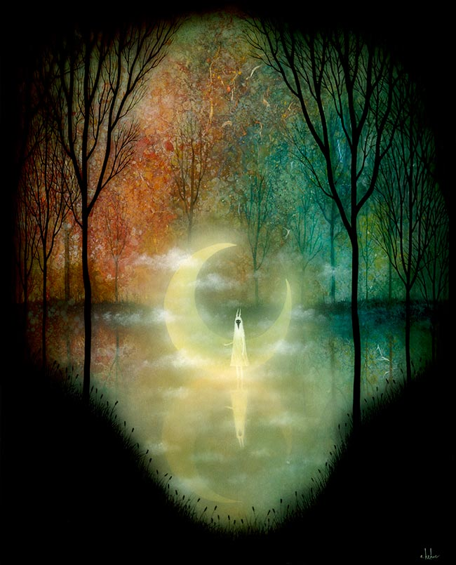 Andy Kehoe - Lake of the Fallen Moon