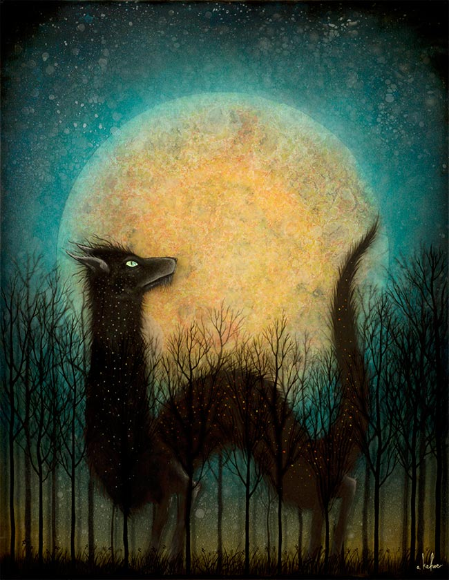 Andy Kehoe - The Feral Moon Rises