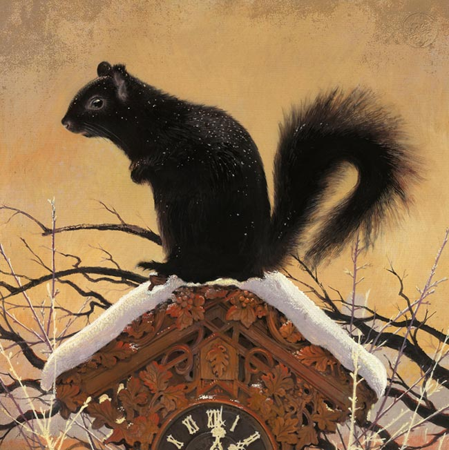 Bill Mayer - The Black Squirrel