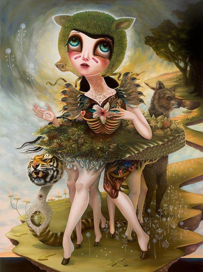 Jennybird Alcantara - Creatures of Saintly Disguise