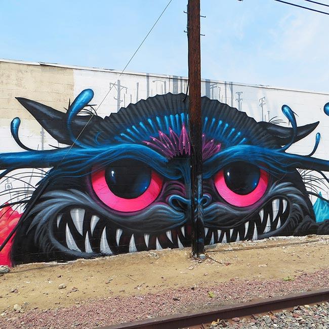 Jeff Soto - Neko Slauson Mural