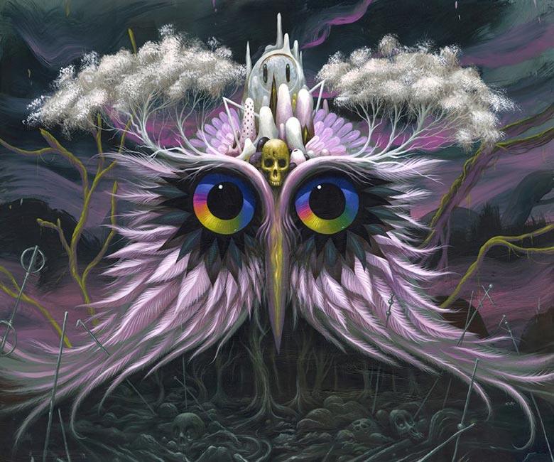 Jeff Soto - Owl of Infinite Knowledge