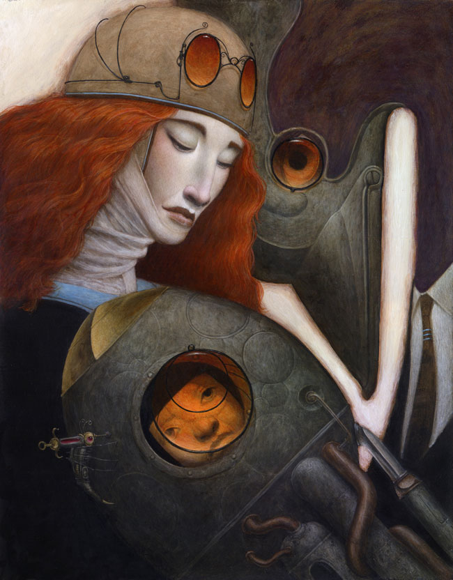 Bill Carman – Inviting the Birds in to Roost – Artist Interview