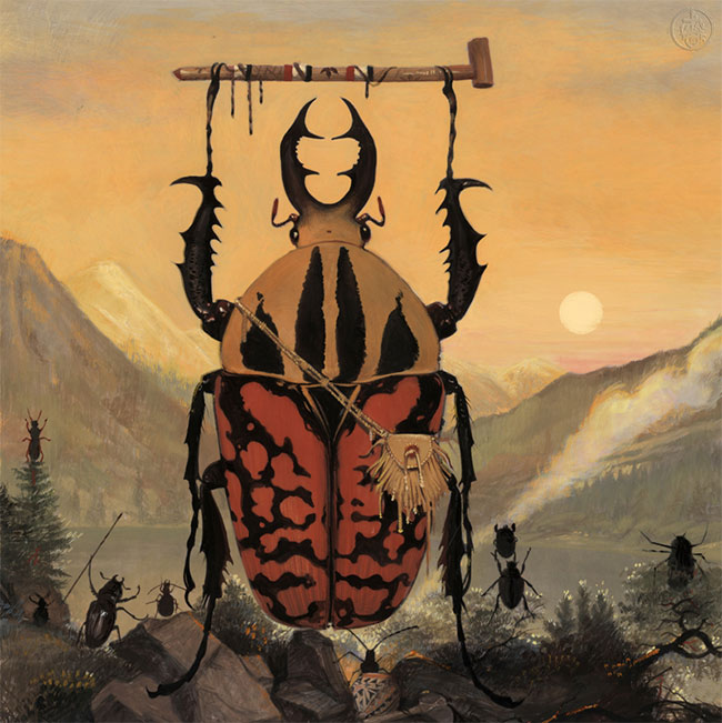 Bill Mayer - Beetles with Pipe