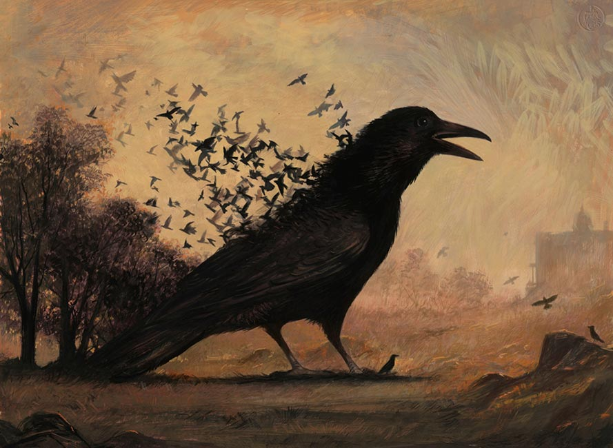 Bill Mayer - The Birth of the Crow