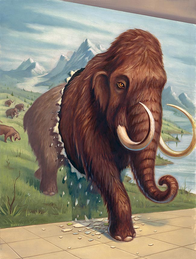 Chris Buzelli - Long Live the Mammoth