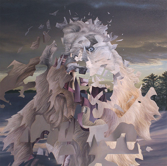 Angela Gram - White Lion