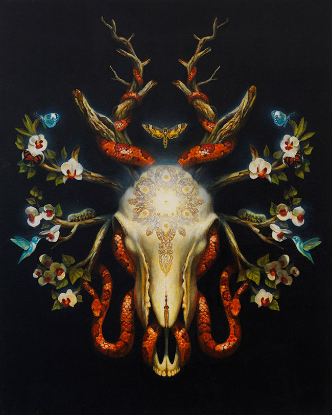 Martin Wittfooth – The Expansion of Consciousness – Artist Interview