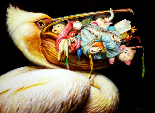 Martin Wittfooth - Loot Bag