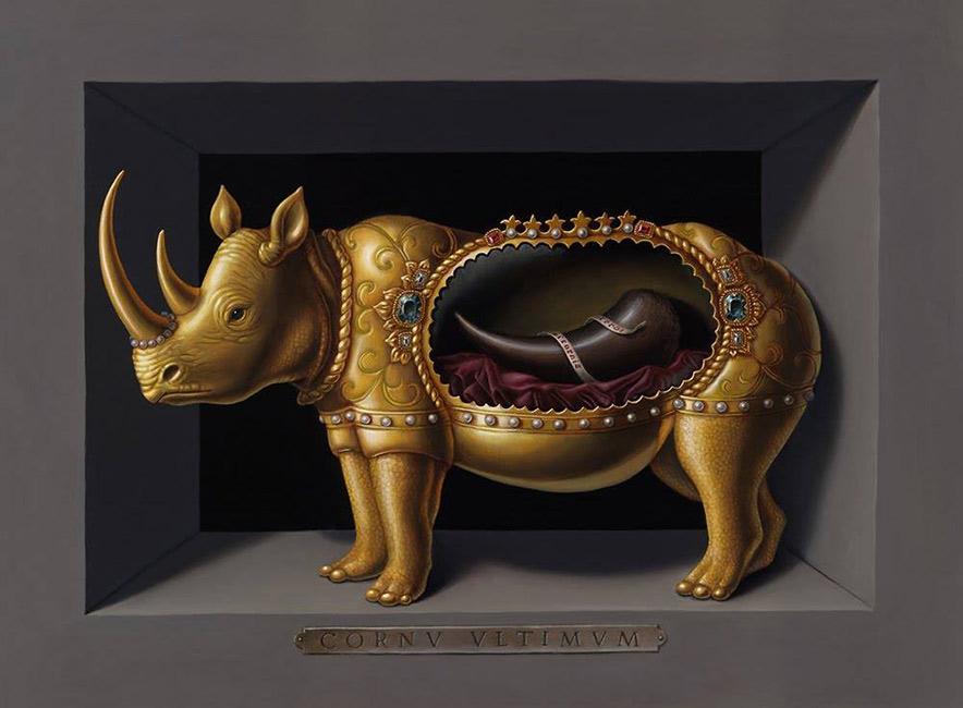 Madeline von Foerster - Rhino Reliquary