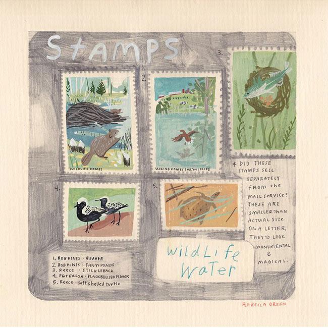 Rebecca Green - Stamps