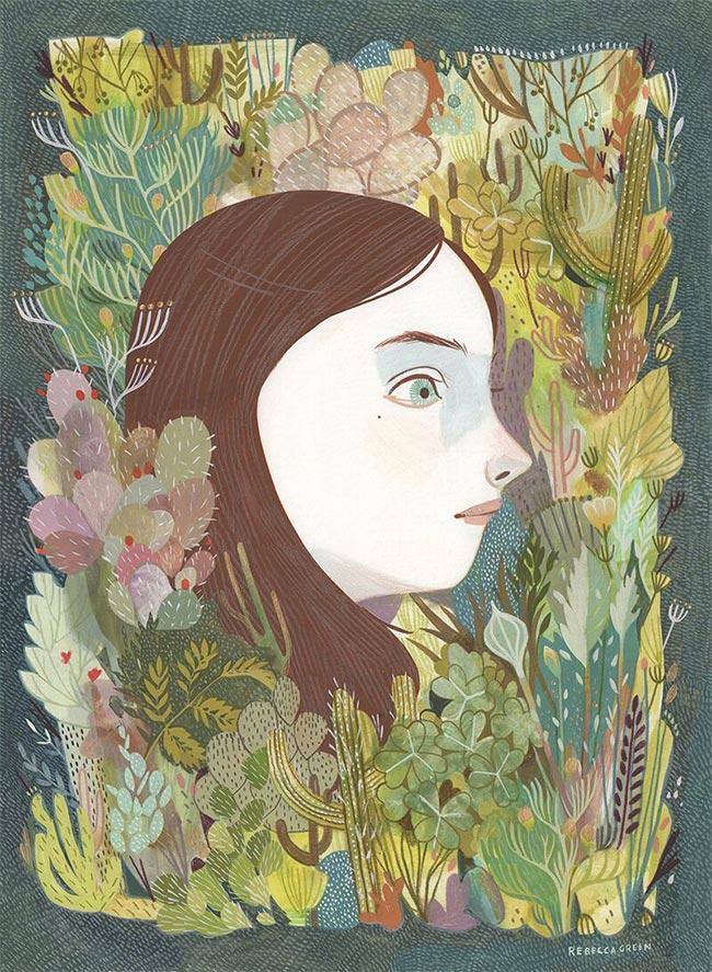 Rebecca Green - Succulent