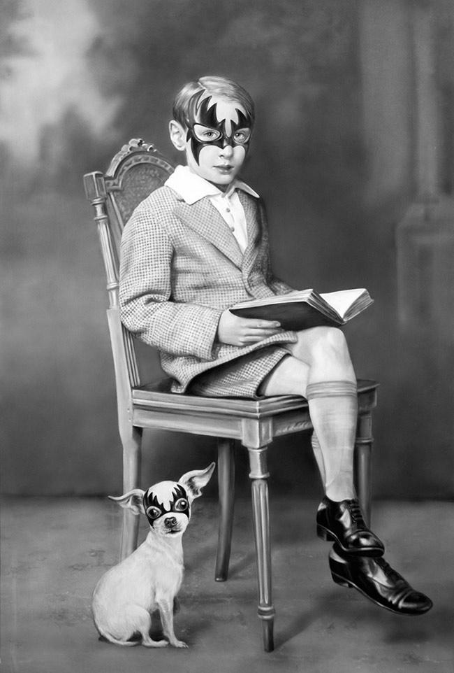 Zoé Byland - Boy and Dog