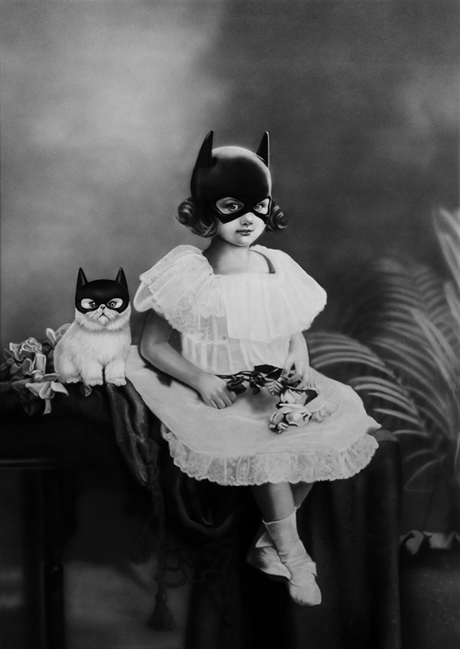 Zoé Byland - Girl and Cat