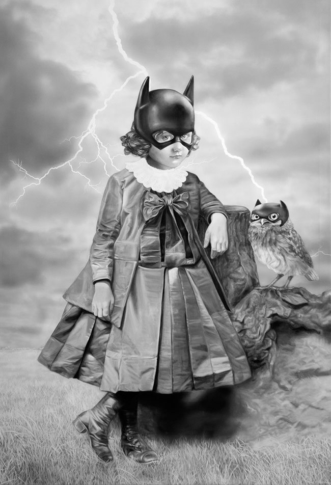 Zoé Byland - Girl and Owl