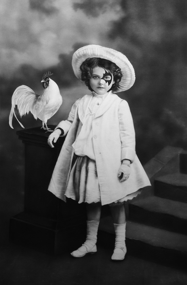 Zoé Byland - Girl in White