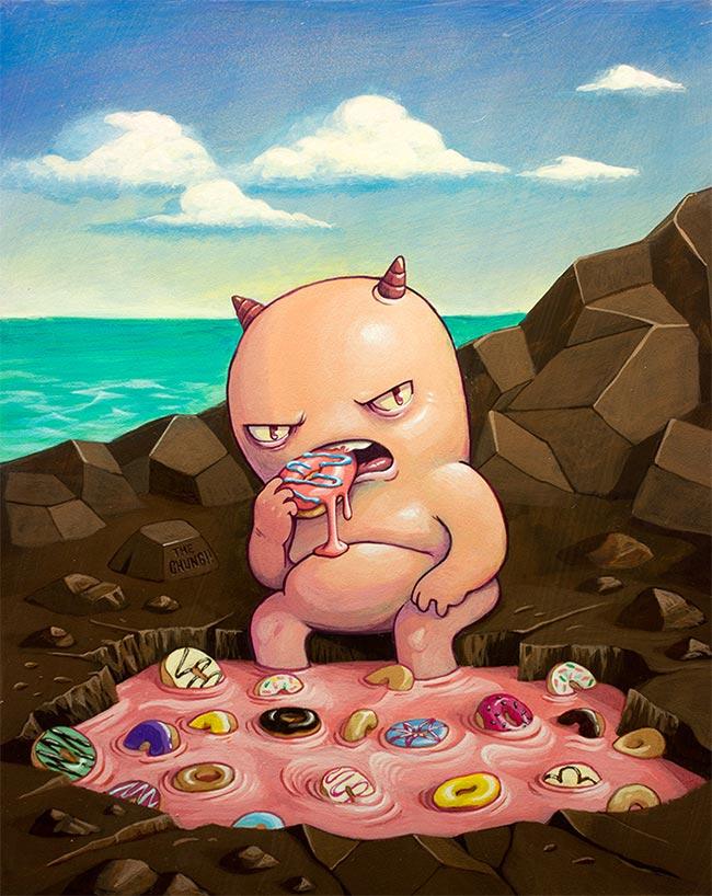David Chung - At the Donut Hole