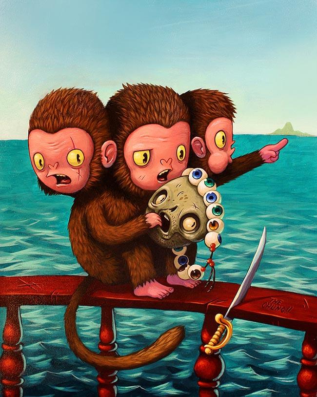 David Chung - Look Behind You! A Three-Headed Monkey!