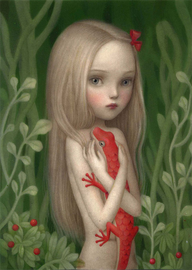 Nicoletta Ceccoli - Cuddle (A Tribute to Aron Wiesenfeld)