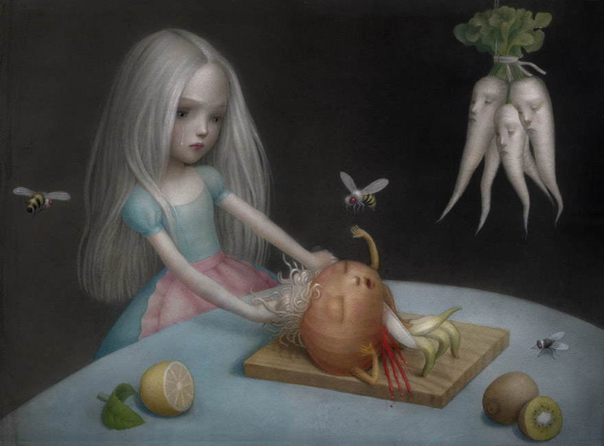 Nicoletta Ceccoli - Girl's Don't Cry