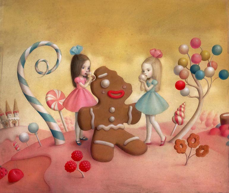 Nicoletta Ceccoli - Material Girls