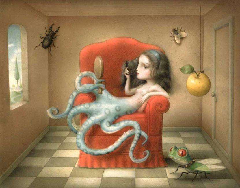 Nicoletta Ceccoli - Octopussy