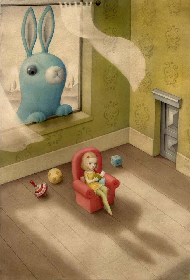 Nicoletta Ceccoli - Peeping Tom