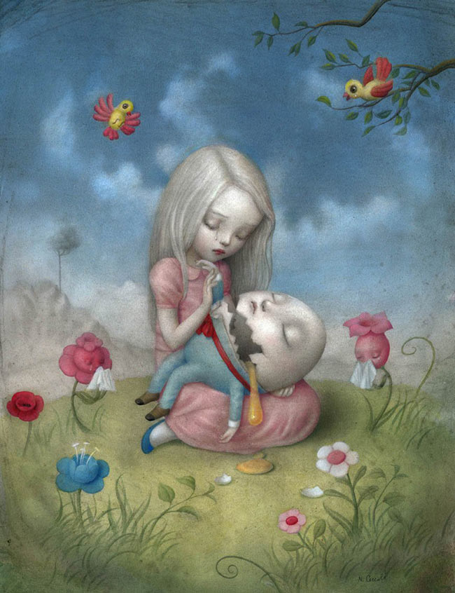 Nicoletta Ceccoli - Too Fragile