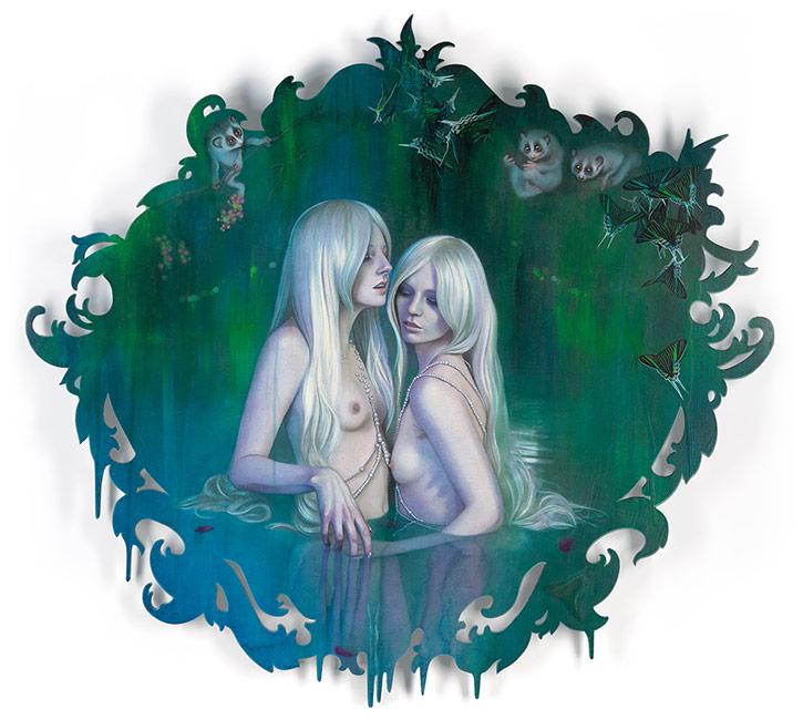 Redd Walitzki - Goldaline Twins