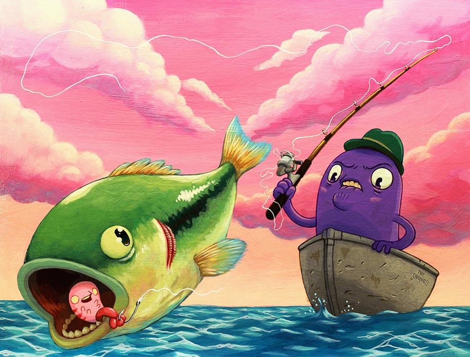 David Chung - Mr. Goddamnit Loses A Fish