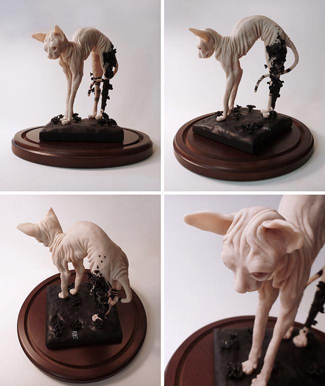 J.A.W. Cooper - Morn Sculpture