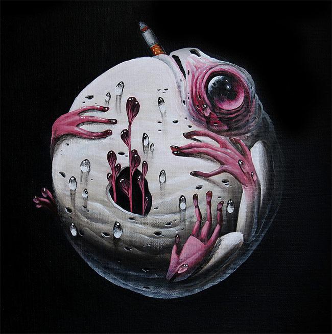 Veks Van Hillik - Full Moon Frog