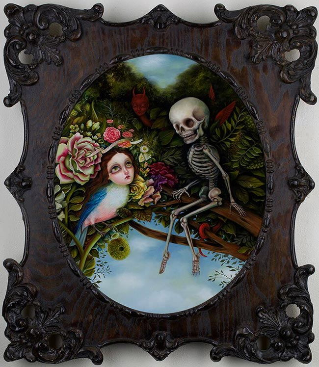 Jennybird Alcantara - Death and the Maiden