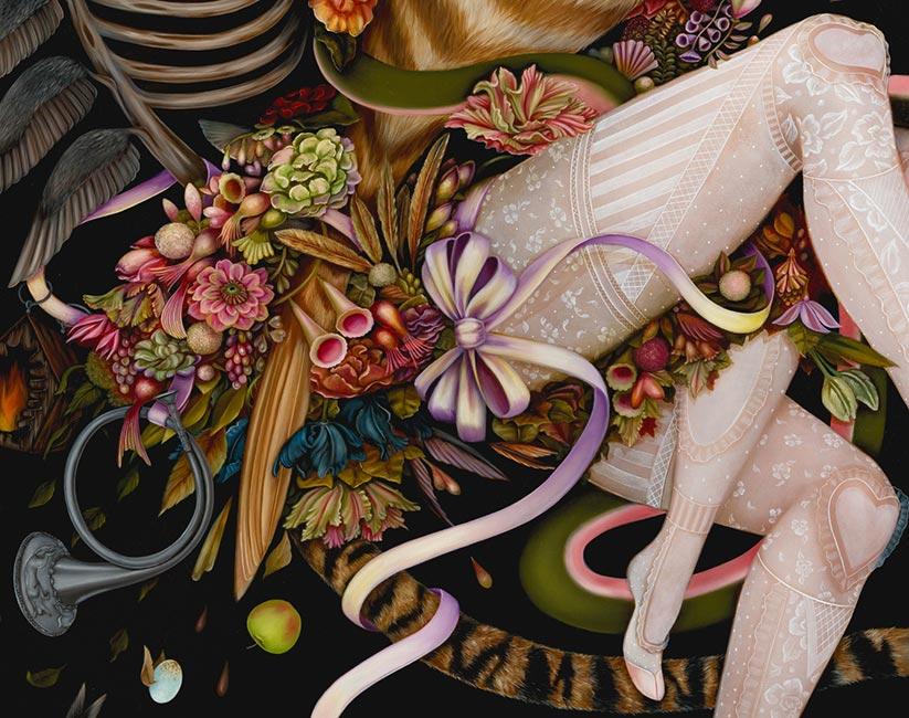 Jennybird Alcantara - Sublime Escape (Detail)