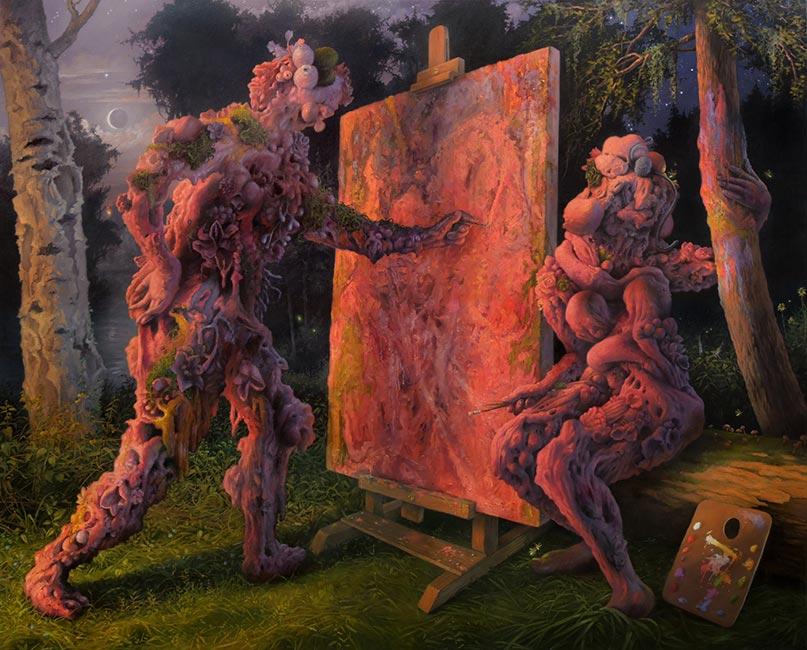 Adrian Cox - The Scenic Painters