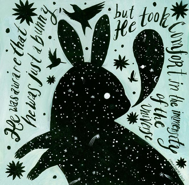 Diana Sudyka - Cosmic Bunny