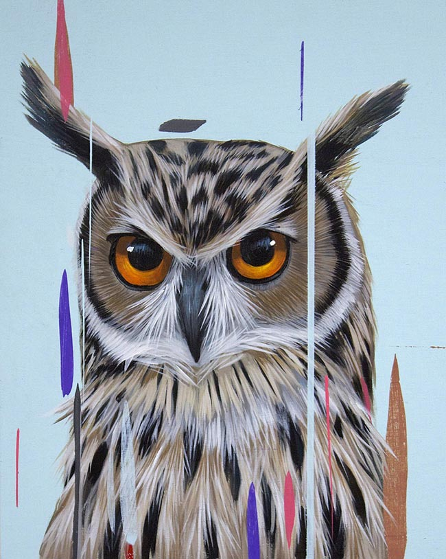 Frank Gonzales - Eagle Owl