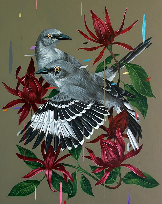 Frank Gonzales - Mockingbirds and Calycanthus