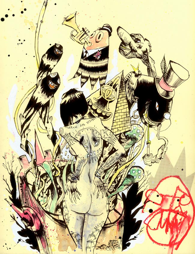 Jim Mahfood – Visual Funk – Artist Profile