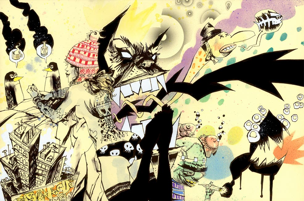 Jim Mahfood - The Party