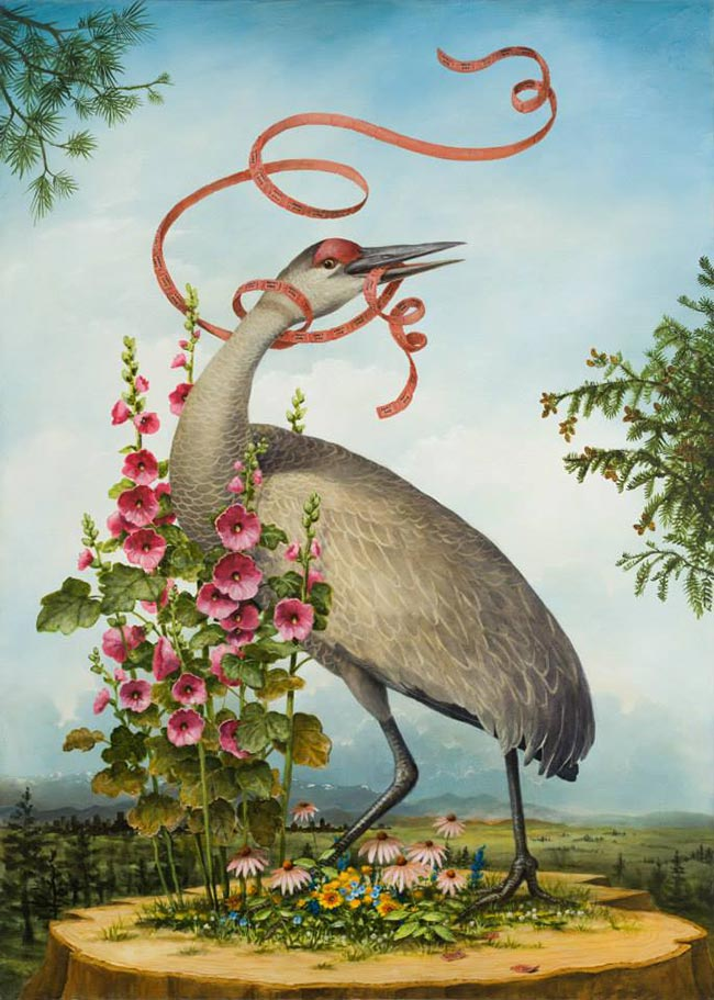 Kevin Sloan - Birds of America - Admit One