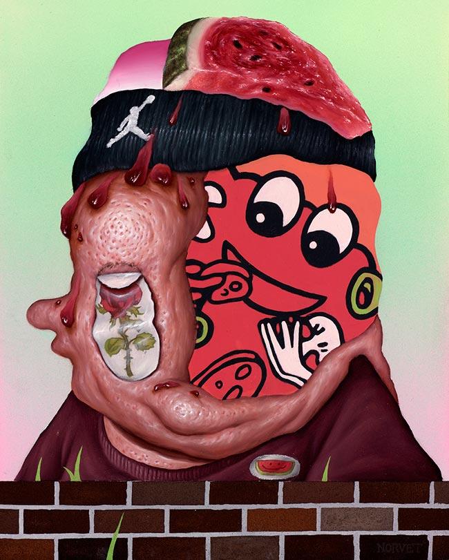 Sean Norvet - Watermelon Sweater