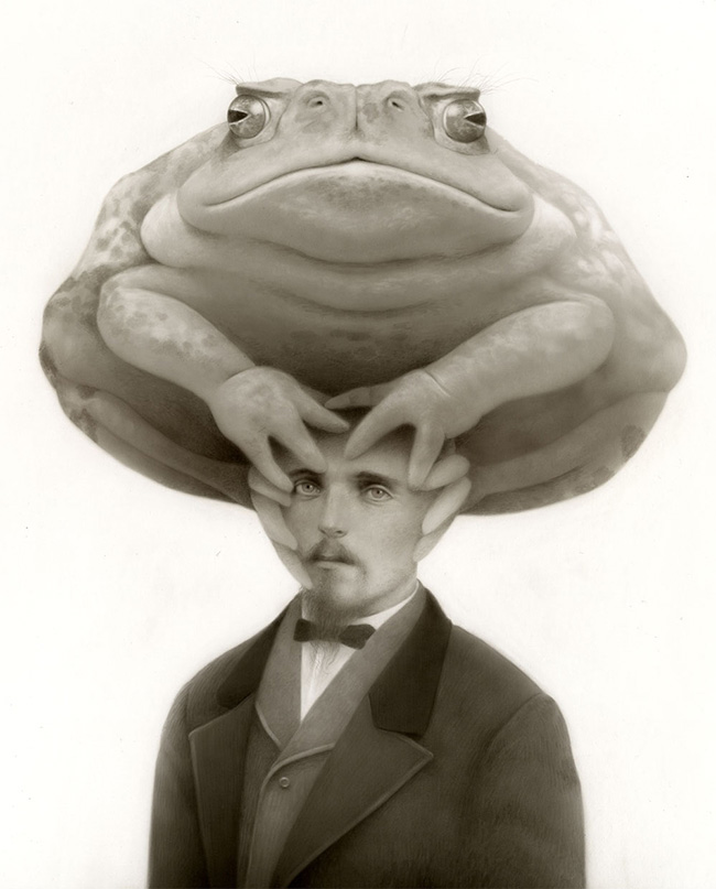 Travis Louie - Oscar and the Truth Toad