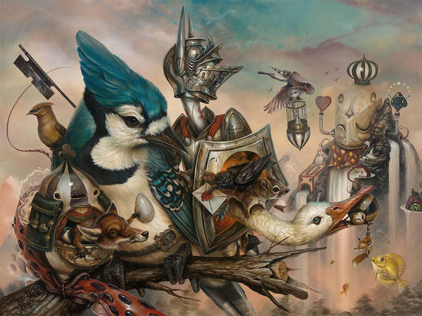 Greg Craola Simkins - Good Knight
